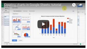 Google Charts video tutorial