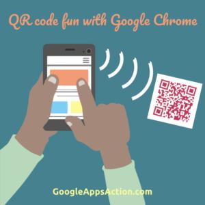 Scanning QR codes using Google Chrome on iOS