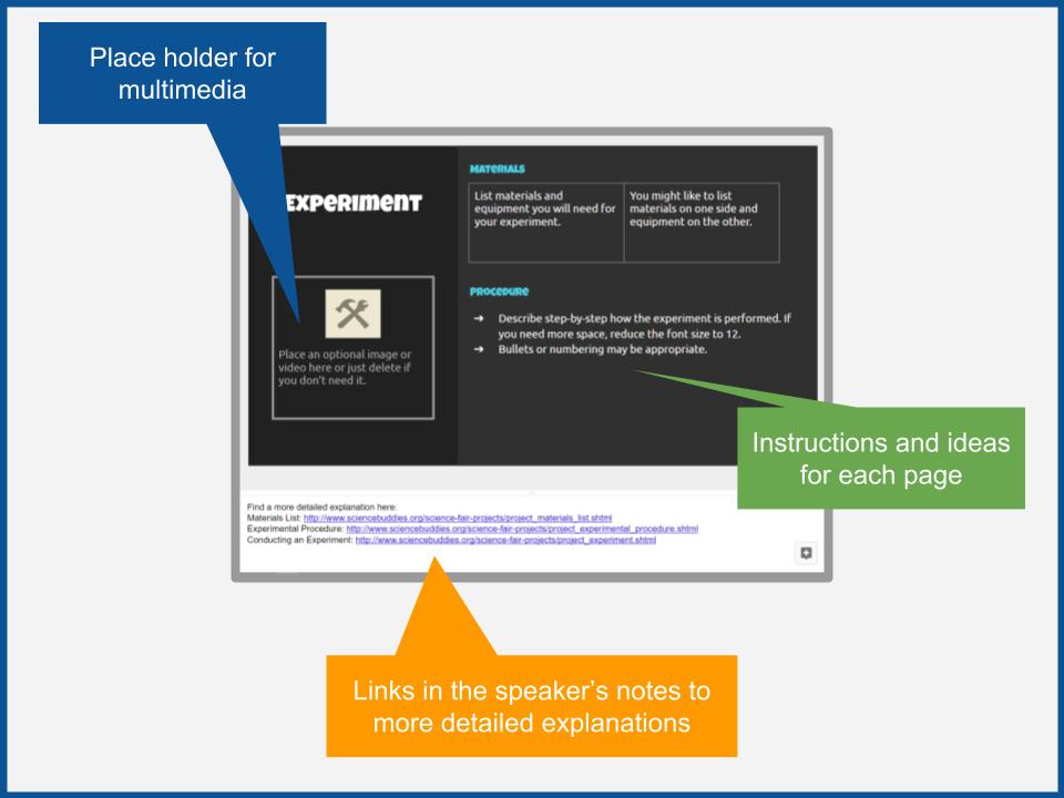 FREE Scientific method digital workbook screenshot